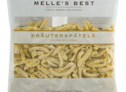 Kräuterspätzle – Spaetzle with Herbs